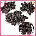 Nuevo producto xsion 100% primas sin procesar peruano virgen del cabello, lima peru peruana de pelo