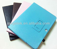 For samsung galaxy tab 3 case leather folio , folio pu leather case for samsung galaxy tab 3 10.1 P5200