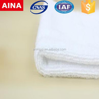 China Top 10 Towels' supplier dry fast Turkish Jacquard weave white sanitary towel