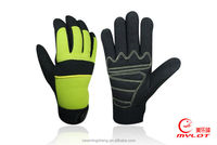 Customized leather gloves