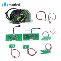 Maxfind 9 in one 2 wheel smart board scooter parts control boards / main boards whole set