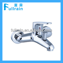 Wall Mounted Bath Vessel Sink Shower Mixer Faucet / Bath Tap Mixer