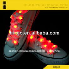 led luz de cordones de los zapatos