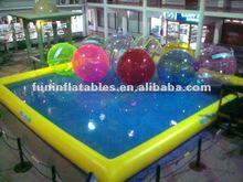 de alta calidad de tpu agua caminando las bolas con piscina para la venta