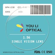1.56 Resin Optical Glass Lens Manufacturers