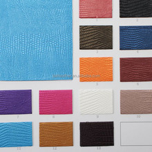 Lizard Skin thermo wholesale Faux Leather Fabric For Iphone 5s Case