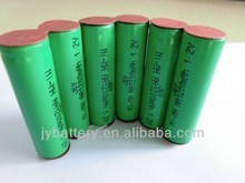7.2v best quality nimh Rechargeable battery pack AA 1200mah for lights/lamps devices