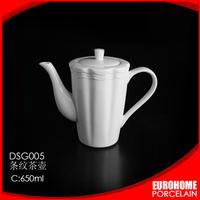 new product 2016 nice design white porcelain wedding pot