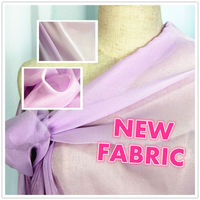 NEW! Crystal Satin, translucent fabric with shiny look, charmeuse fabric