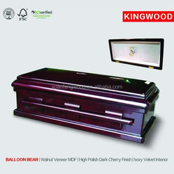 BALLOON BEAR #27 hot sale wholesale pet casket parts from china