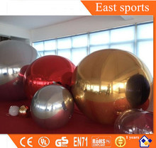 New finished inflatable mirror ball Decorative Silver ball with lower price