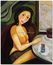 Woman Newest Handmade Canvas Oil Painting For Decor