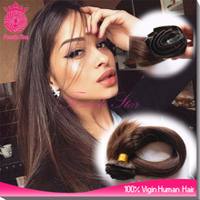 human hair extensions salon wholesale dark brown clip in hair extension