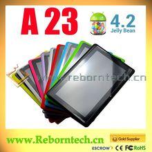 el más barato de doble núcleo 7 tablet pc mid q88 a23