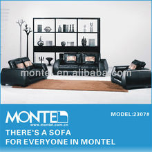 modern color leather sofa 2307#