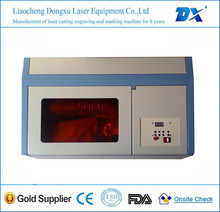 Made in chine water cooling beautiful small laser cutting machine