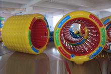 cheap inflatable water roller, water walking rollers, inflatable baby water roller