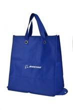 Fancy laminated tote shopping bag/eco tote bags