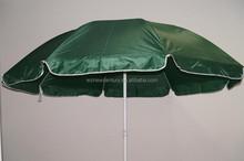 240 cm oxford solid fabric garden patio umbrella with tilt