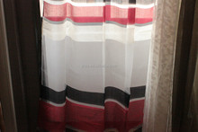 Polyester yarn dyed two tones different styles jacquard curtains, jacquard woven ready made curtains