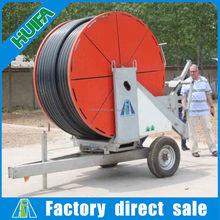 Henan Mobile Hose Reel Irrigation System with Boom On Sale