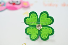Fancy four leaf clover Hair Clip for babies and girls
