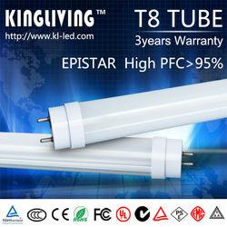 custom-made led red tube sex/waterproof led tube/milk white 1.2m tube8 led light tube