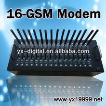 rj45 port interface usb modem GSM modem wavecom 16ports bulk SMS MMS EDGE/multiport usb