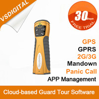 GPRS GPS Realtime Security Patrol Wand with Voice Communication