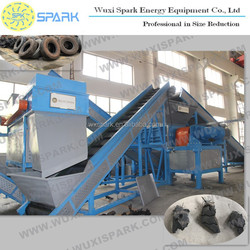 Used Car/Truck Tire Shredding Machine Supplier for sale with best price
