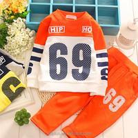 2015 New Hot Autumn Boys Sport Clothing Sets Cotton Kids Tracksuit