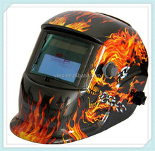 flame picture welding helmet lord of the ring helmet