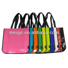 Customized non woven tote bag/polyester tote bag/candy tote bag