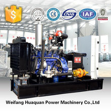 Water cooling electric natural gas genset