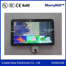 Excellent Wall Mounted 10/ 12/ 15/ 17/ 19 inch LCD Touch Screen Motion Activated Advertising Display