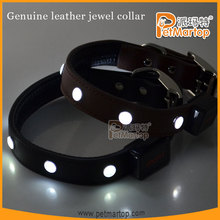 2015 Fashion dog collar,pet collar,dog collar leather with factory price making dog collar