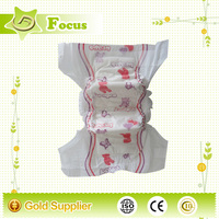 grade A quality comfortable soft OEM custom printed diaper for baby