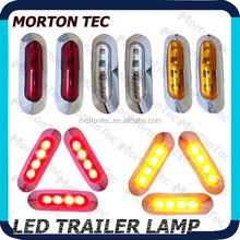 10-30V oval side marker led truck light