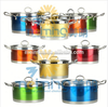 hot new product for 2015/10pcs stainless steel cookware sets