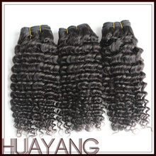 Factory Price Unprocessed Human Hair Deep Wave Indian Hair Extension