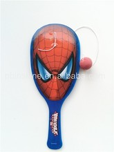 Hot sale high quality paddle ball for promotions , toy plastic paddle ball for kids