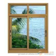 Good price aluminum windows grill design pictures, glass sliding windows