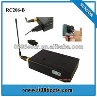 1.2GHz wireless transmitter receiver and button camera