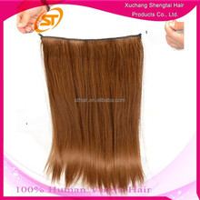 New Arrival 2015 Hot Products Flat In Hair, Fish Line Hair Extensions, Flip In Hair Extension