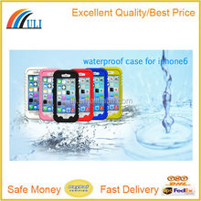 New products factory price IP68 standard Waterproof case for iphone 6 case