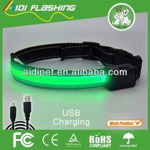 dog pet shock collar electric fence underground led flashing dog collar