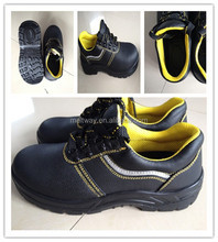 China factory Popular Oil resistant PU injection cheap industrial Safety shoes with steel toe and steel plate