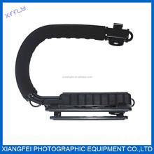 xffly 2014 hotsale factory price,C-shape Camera Handheld Holder Bracket Motion Stabilizer for 5D2 DSLR Camera Use