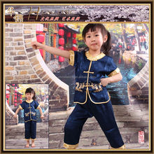 chinese style Boy's t shirt,cotton short sleeves and pants