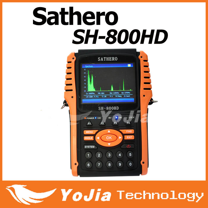 3 5 Hd Satellite Finder Sathero Sh 800hd Support Dvb S